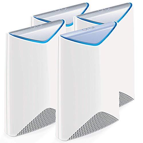 NETGEAR ORBI PRO Système Wifi Mesh amplificateur ultra puissant pour l entreprise SRK60 (1 routeur + 3 satellites extender) – Jusqu'à 700m² de couverture
