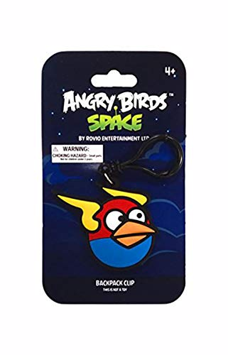 Angry Birds Space Backpack Clip - The Blues Bird