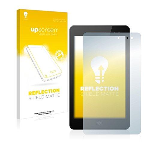 upscreen Reflection Shield Matte Bildschirmschutz Schutzfolie für HP Envy 8 Note (matt - entspiegelt, hoher Kratzschutz)