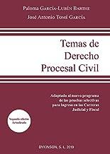 Temas De Derecho Procesal Civil: Adaptado al nuevo programa de las pruebas selectivas para ingreso en las Carreras Judicial y Fiscal