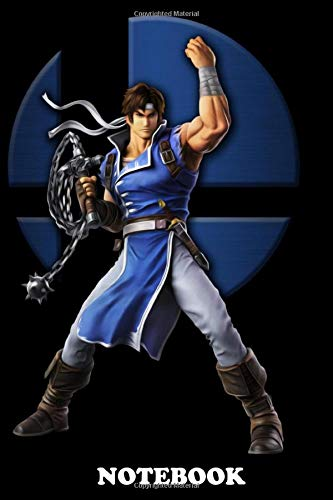 Notebook: Richter Belmont , Journal for Writing, College Ruled Size 6' x 9', 110 Pages