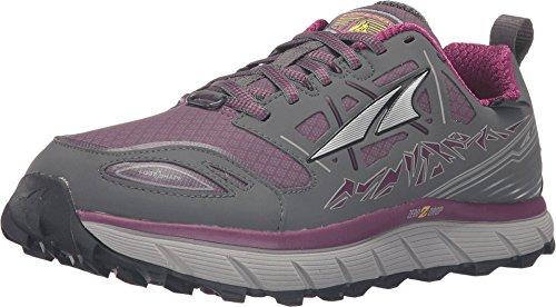 ALTRA Women's A2653LOW-2 Lone Peak 3 Low Neoshell Trail Running Shoe, Gray/Purple - 6 M US