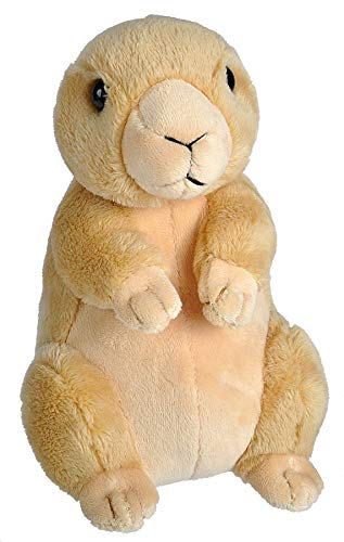 Wild Republic Wild Calls Prairie Dog, Authentic Animal Sound, Stuffed Animal, Eight Inches, Gift for Kids, Plush Toy, Fill is Spun Recycled Water Bottles