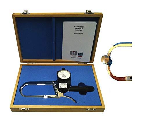Plicometro Harpenden Medidor de Grasa Corporal con Calibrador