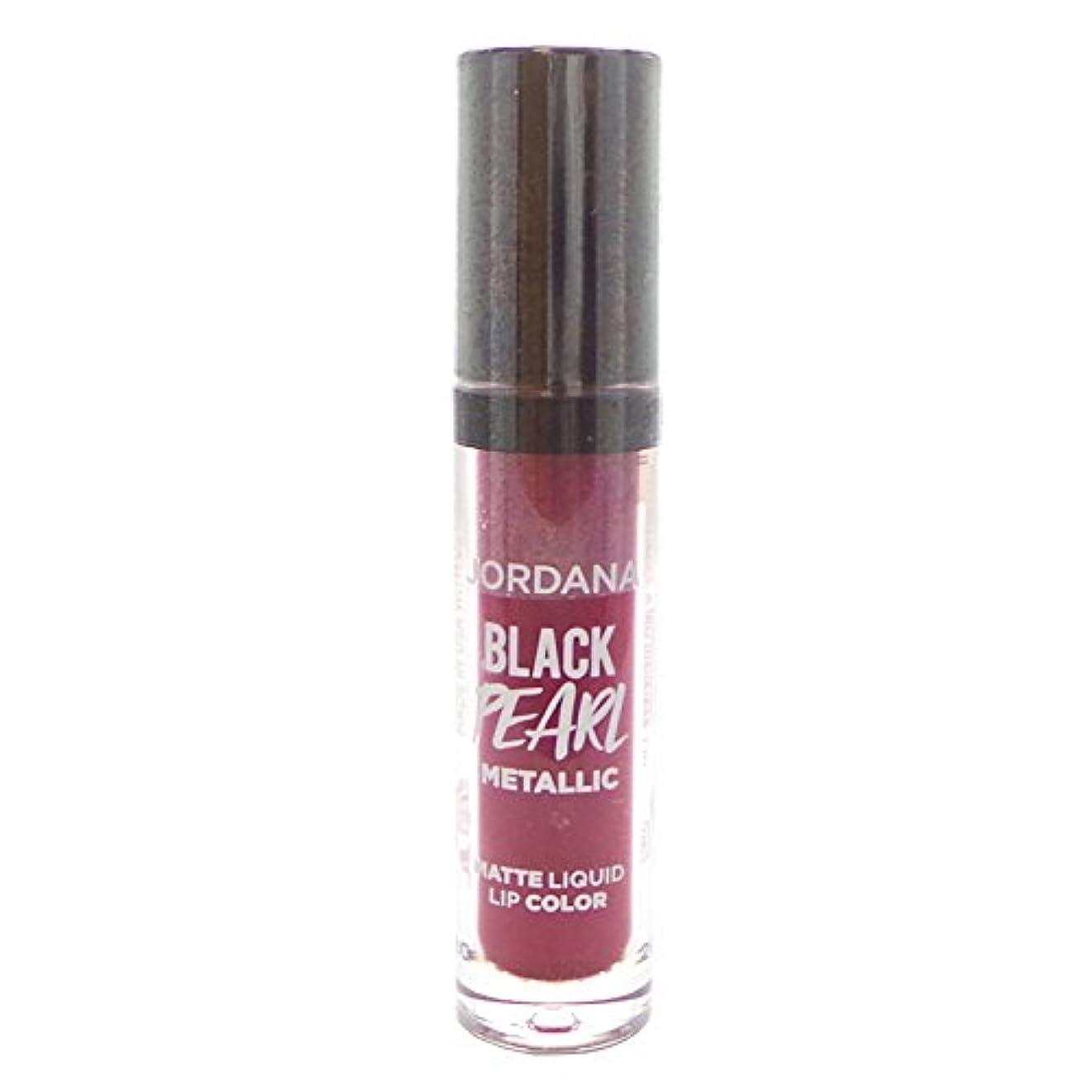 失速配管チャット(3 Pack) JORDANA Limited Edition Black Pearl Metallic Matte Liquid Lip Color - Hypnotic (並行輸入品)