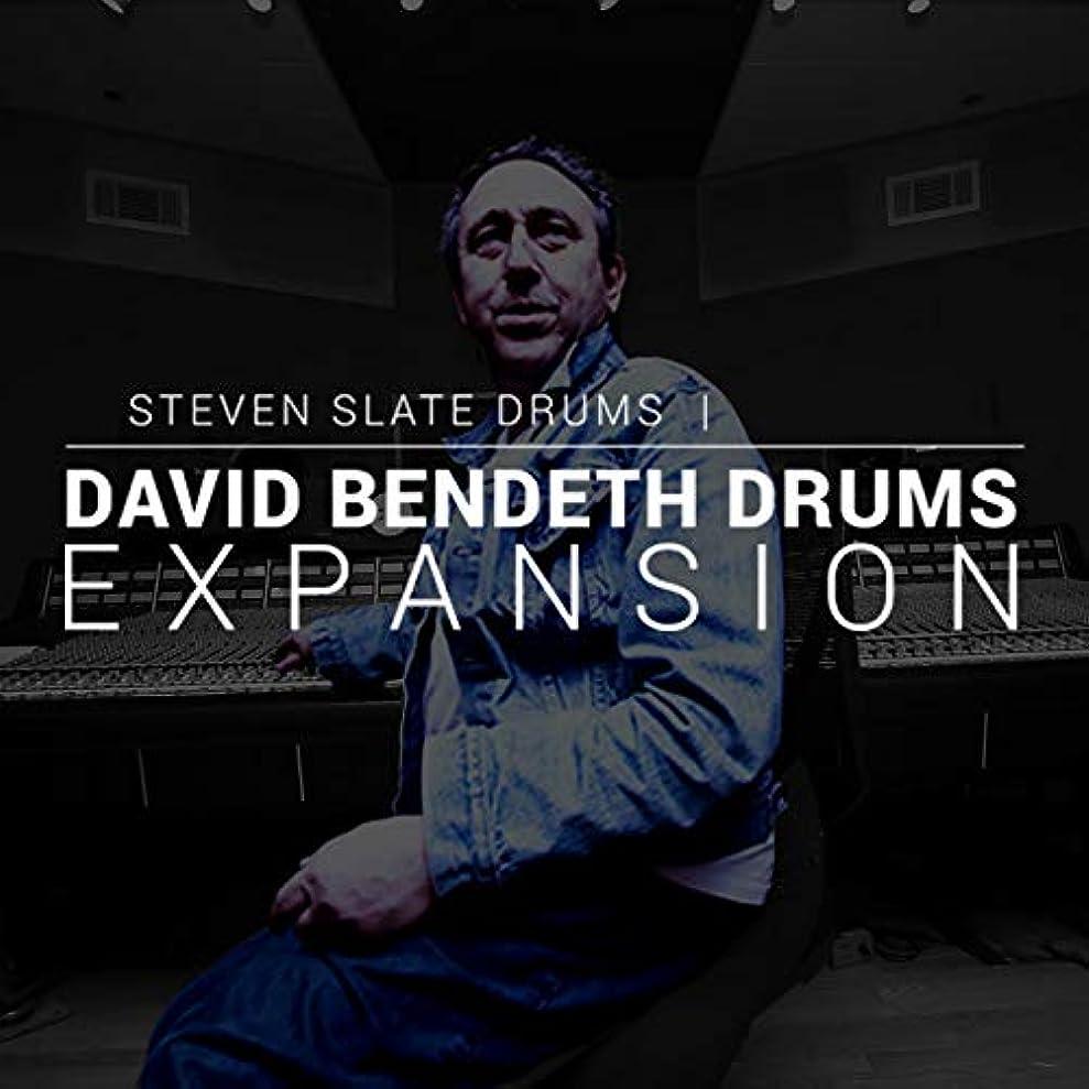 症候群先生最高【国内正規品】STEVEN SLATE DRUMS David Bendeth Drums EXPANSION (SSD5専用拡張音源:簡易パッケージ版)