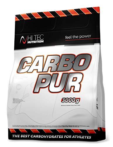 Hi Tec Nutrition - Carbo Pur - maltodextrina - con cero azúcar - 3000 g - Naranja