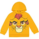 Disney Lion Guard Kion Toddler Boys Fleece Cosplay Pullover Hoodie Yellow 4T