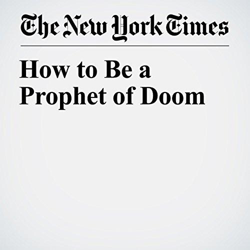 How to Be a Prophet of Doom copertina