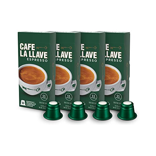 Our #5 Pick is the Café La Llave Nespresso Capsules