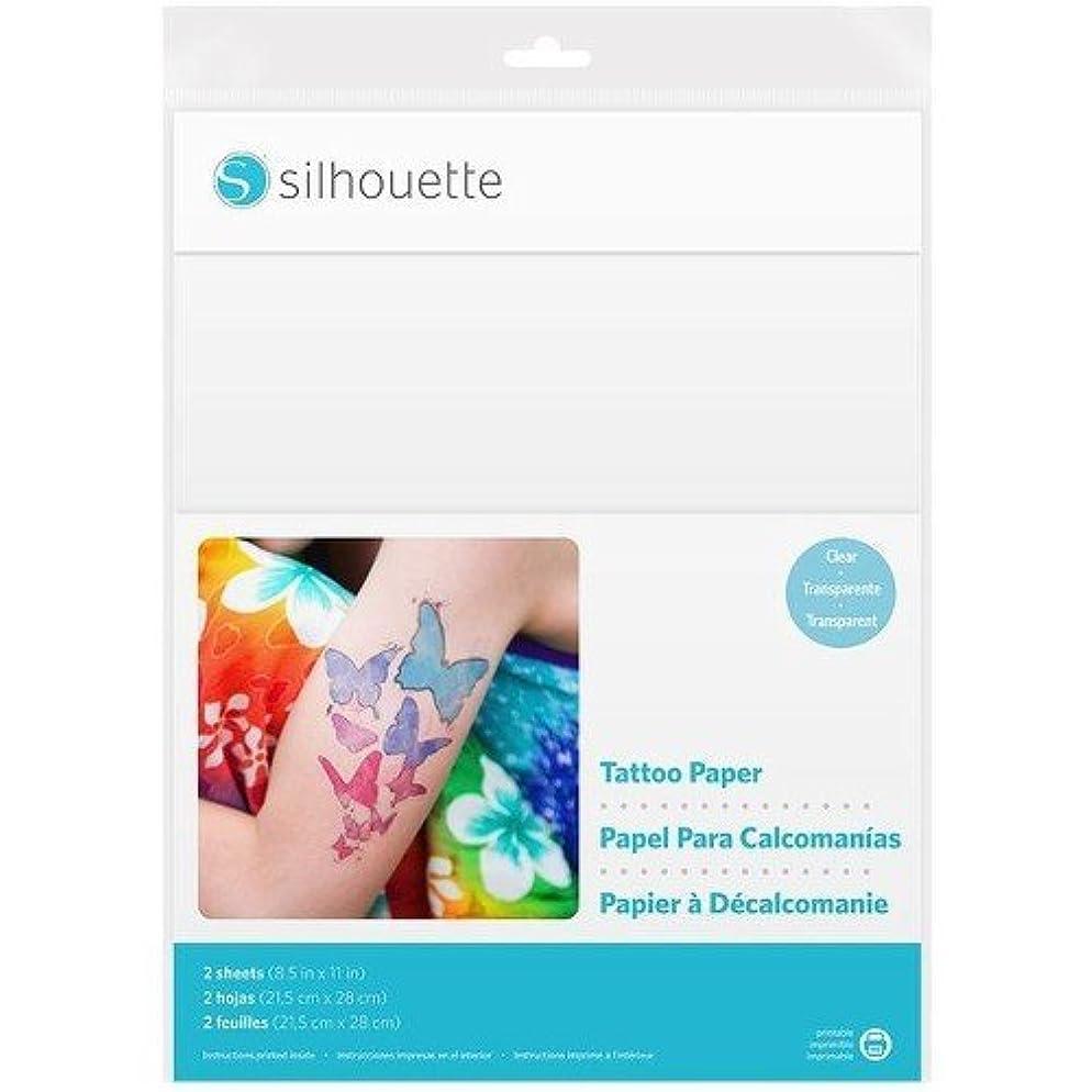 Silhouette America Temp Tattoo Paper