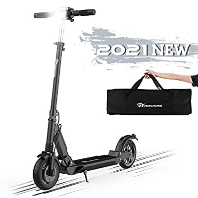 Hoverboards Electric Scooter, Electric Scooter for Adults 8 inch 350W Motor Max Speed 30km/h Foldable Electric Scooter with LCD display 7.5A Li-Ion battery UltraLight Foldable E-Scooter