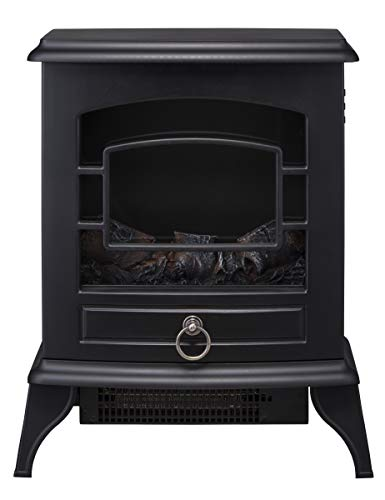スリーアップノスタルジア暖炉型ヒーターブラックCH-T1840BK