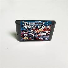 Lksya Carte de jeu MD Chase HQ II 2 - 16 bits pour cartouche de console de jeu vidéo Sega Megadrive Genesis (coquille amér...