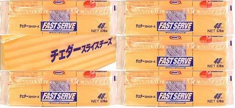 クラフト チェダースライスチーズ(48枚×6パック)