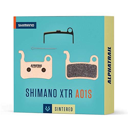 Alphatrail Pastillas de Freno - Shimano A01S I Sinterizado...