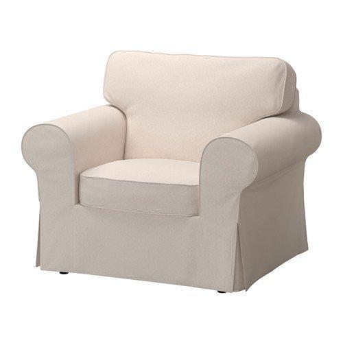 IKEA(イケア) EKTORP アームチェア用カバー, ローファレット ベージュ (50321683) (503.216.83)
