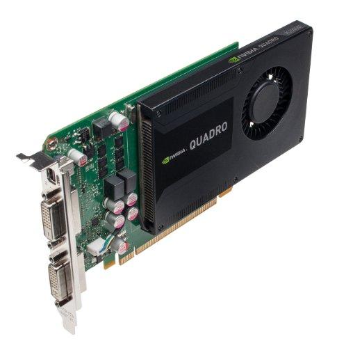 NVIDIA Quadro K2000D Grafikkarte (2 GB, GDDR5) (PNY Teilenummer: VCQK2000D-PB)