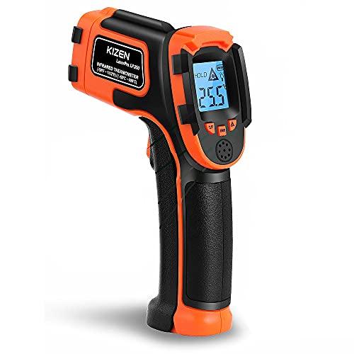 Kizen LaserPro LP300 Digital Infrared Thermometer Gun. Non-Contact Digital Laser Temperature Gun...