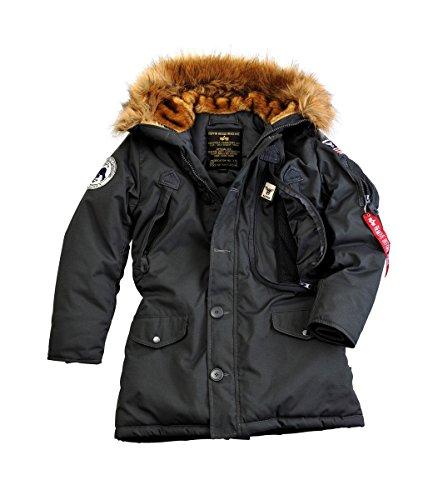 Alpha Industries Polar Damen Jacke Schwarz M