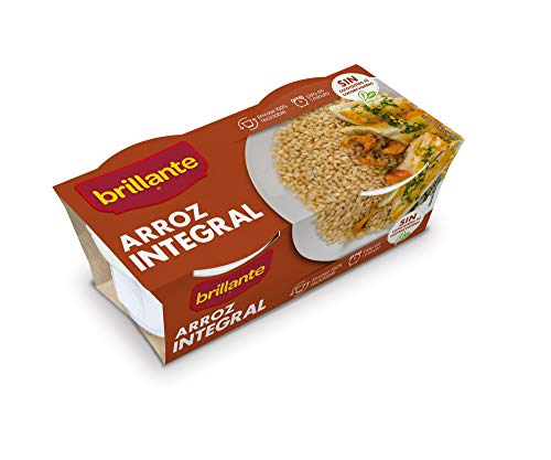Brillante Arroz Integral, 2 x 125g