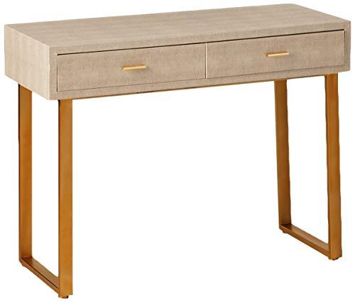 Sterling Home Beaufort Point desk, grey/gold