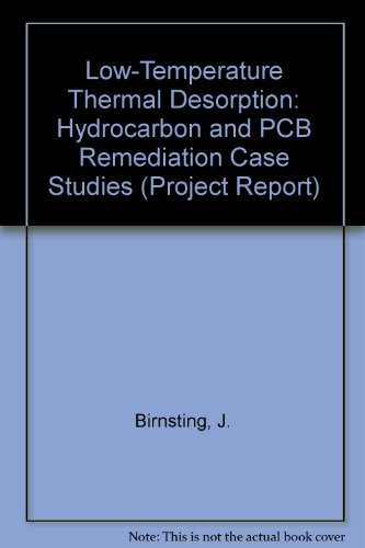 Low-Temperature Thermal Desorption: Hydrocarbon and PCB Remediation Case Studies