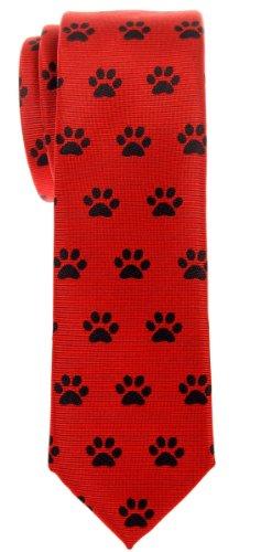 Retreez - Cravate - Motifs - Homme - Rouge - Taille Unique