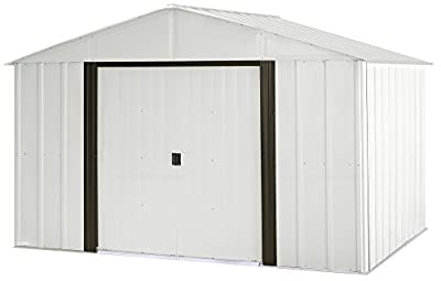 Arrow AR108 AR108-A Arlington 10 8-Feet Steel Storage Shed, 10' x 8'