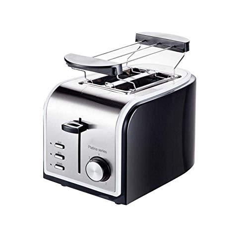 2 Slice Toaster, 3,5 Cm Extra Wide Slot En Uitneembare Kruimellade, Broodrooster Met 7 Temperature Settings, En Opwarmen Dooi Functie