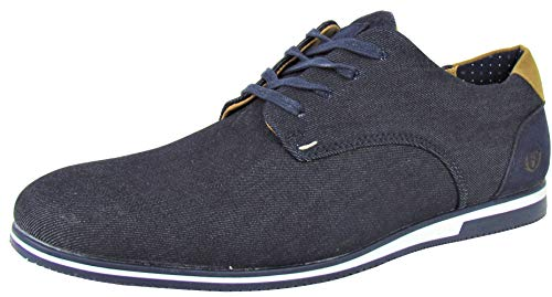 Benson & Cherry Herren Sneaker Jeans Style (41 EU, blau (Denim))