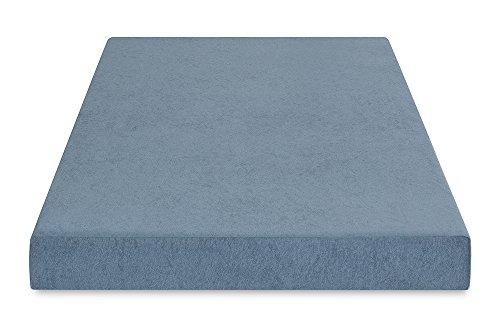 PrimaSleep Silver Cool Gel Memory Foam, Comfort Bed Mattress, 5'' H, Twin, Silver