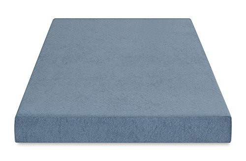 PrimaSleep Silver Cool Gel Memory Foam, Comfort Bed Mattress, 5'' H, Twin, Silver