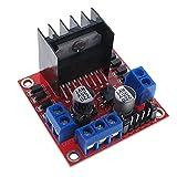 JCMYSH Relaismodul 1 Stück L298N. Treiberplatinenmodul. 5V L298. Stepper Motor Smart Car Roboter Breadboard Peltier High Power für Arduino DIY. Bausatz für elektronische Komponenten