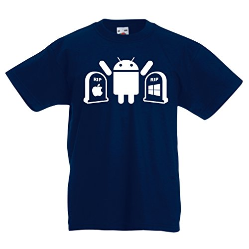 lepni.me Kids T-shirt De winnaar is Android - Grappige Gag Geschenken, tech Gadgets Fan