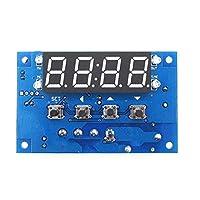 電子サーモスタットアクセサリー XH - W1304時間温度コントローラタイミング温度コントローラ0.1精度-50〜110