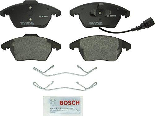 Price comparison product image Bosch BP1107 QuietCast Premium Semi-Metallic Disc Brake Pad Set For: Audi A3,  A3 Quattro,  Quattro,  TT; Volkswagen Beetle,  Bora,  Eos,  Golf,  Golf SportWagen,  GTI,  Jetta,  Passat,  Passat CC,  Rabbit,  Front