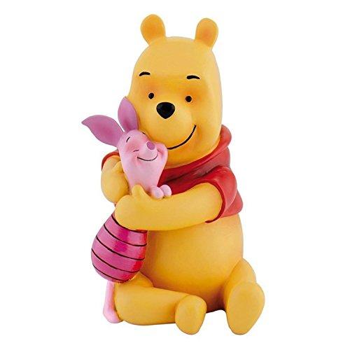 Winnie Puuh mit Ferkel Hochwertige Sammlerfigur Resin 13cm Bullyland Disney