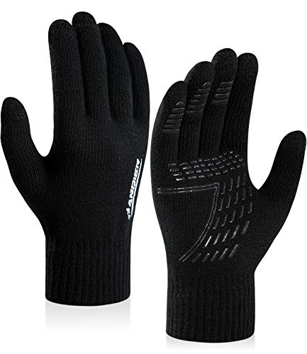 coskefy Winter Knit Gloves Touch...