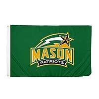 Desert Cactus George Mason University NCAA 100% Polyester Indoor Outdoor 3 feet x 5 feet Flag (Style 1) [並行輸入品]