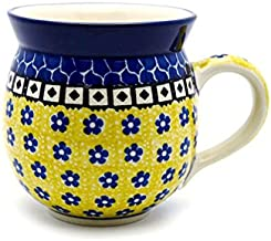Polish Pottery Mug - 11 oz. Bubble - Sunburst