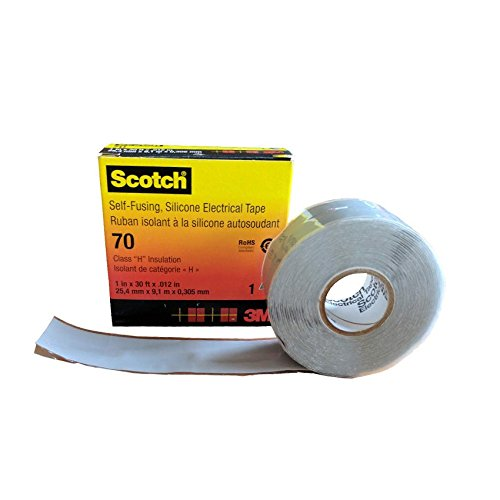3M Cinta Eléctrica de Silicona Autosoldable Scotch 70 25mm x 9m 3M...
