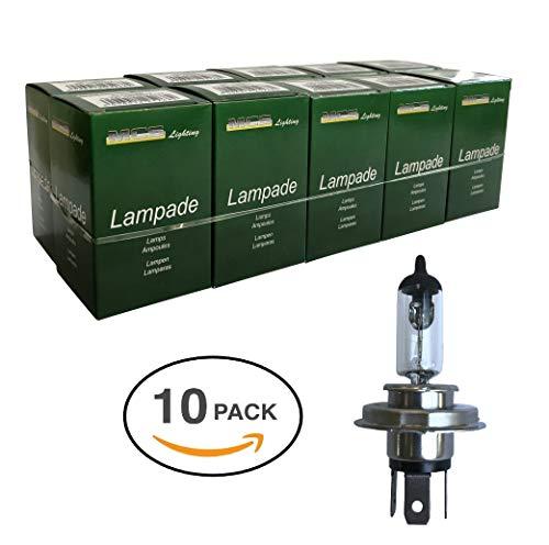 Melchioni Lampe 322399440 H4 12 V 60/55 W p43t-confezione de 10 unités, Lot de 10