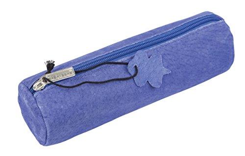 Idena 20030 - Faulenzer Leder, rund, Blau