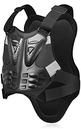 Dirt Bike Chest Protector Motocross Gear for Chest and Spine,Motorcycle Armor Vest for Youth Men