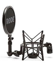 Røde elastische microfoonhouder SM6 met geïntegreerde popshield