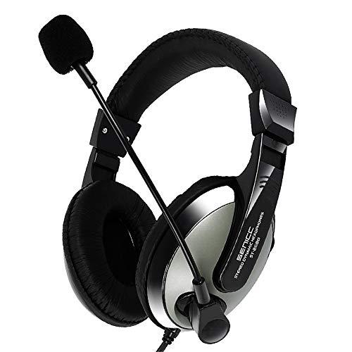 TAORANG Auriculares Gaming Auriculares con Cable de 3 5Mm con Micrófono Aislamiento...