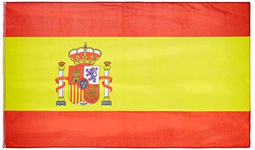 MM 16279 - Bandera de España, Resistente a la Intemperie, 250x 150x 1cm, Multicolor
