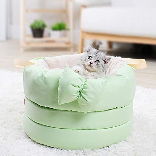 Se Puede Usar Una Cama Para Mascotas, Una Cama Para Gatos, Un Perro Para Mascotas, Cuatro Temporadas, Un Gato / Un Nido Azul, Un Arco De Felpa, Un Sueño Profundo, Interiores Y Exteriores. Movimiento a