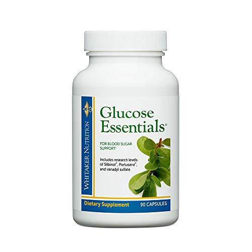 Dr. Whitaker's Glucose Essentials Blood Sugar Management Supplement, 90...